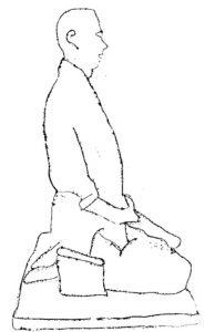 posture zazen pour méditer
