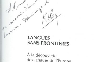 Georges Kersaudy autograph 2001 Le Havre France patrick lemarie consulting