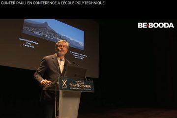 Gunter Pauli Conférence à l'Ecole Polytechnique Paris Saclay 4 avril 2018