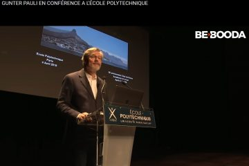 Gunter Pauli Conference at Paris Saclay business cluster April 2018 Patrick lemarie Consulting