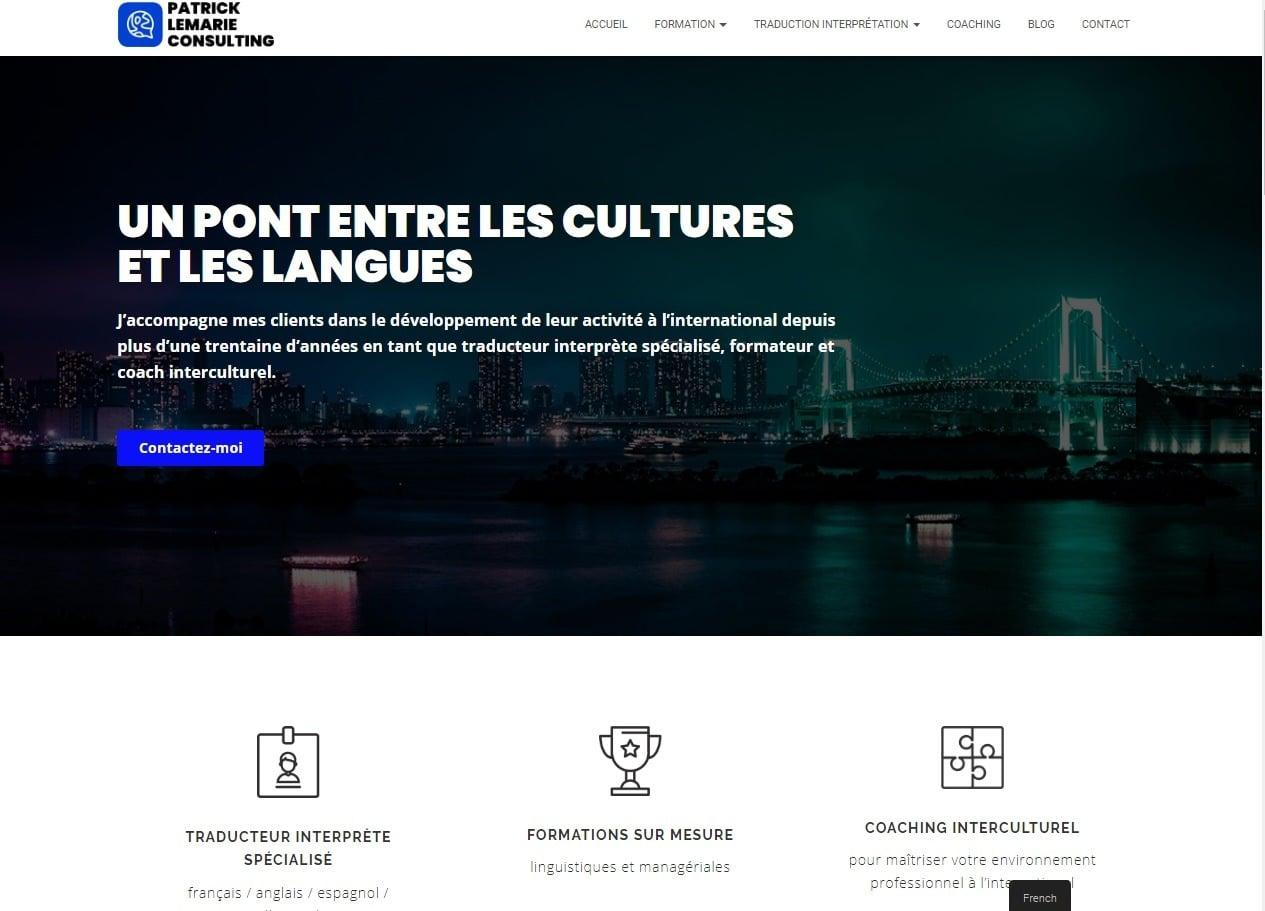 Rédaction web pour contenu qualitatif Patrick lemarié Consulting