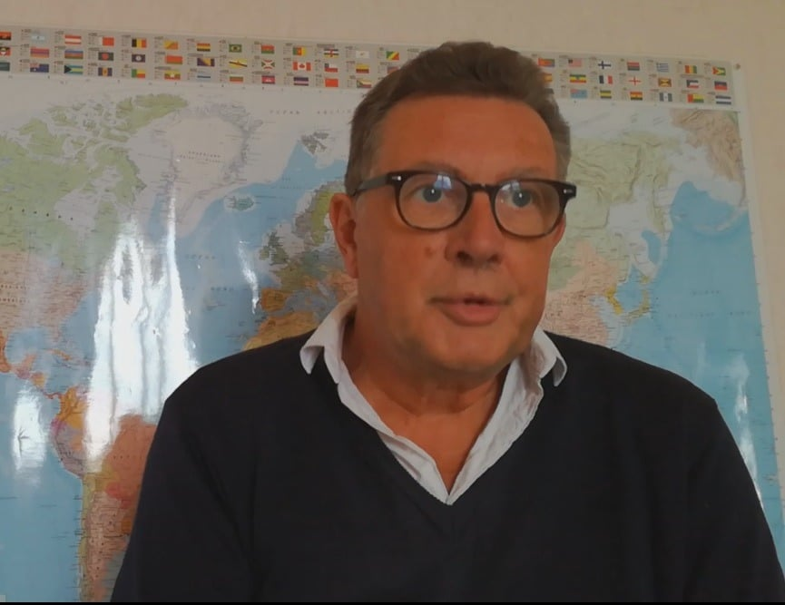 online french teacher patrick lemari u00e9 interviewed by