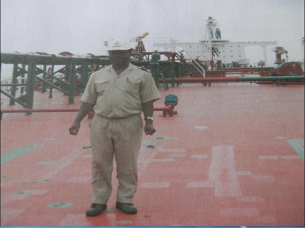 Photo Pierre Botnem Expert Maritime sur pont Tanker UTHA