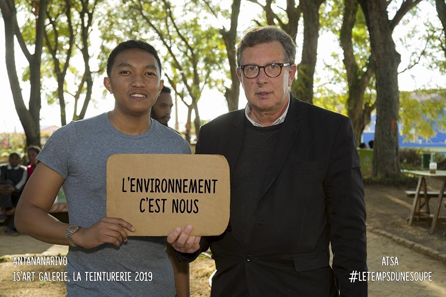 Madagascar-Le Temps d'une Soupe interculturelle Tananarive-2019 l'environnement c'est nous