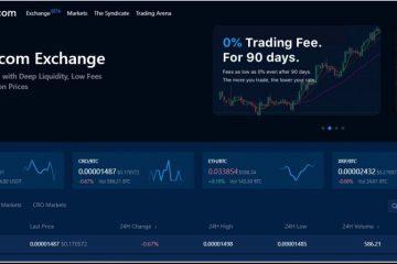 Биржевая торговля на Crypto.com