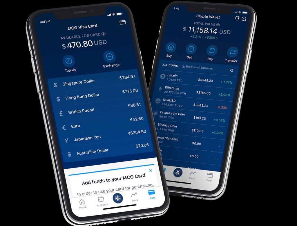 Crypto com MCO Visa card